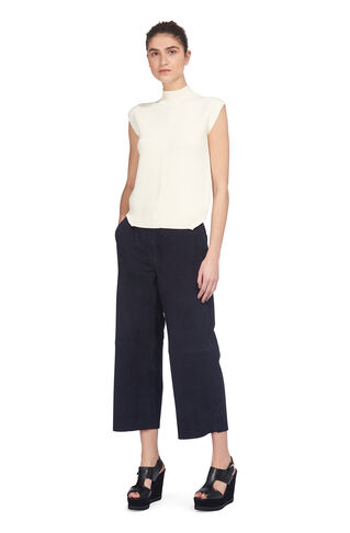 Moore Suede Culottes, in Navy on Whistles