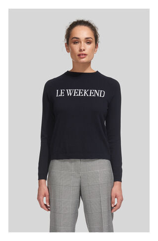 Le Weekend Sweater, in Navy on Whistles