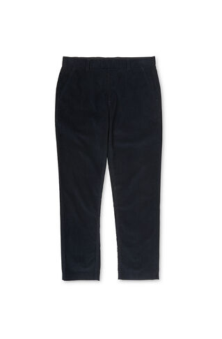 Corduroy Tapered Fit Trousers, in Navy on Whistles