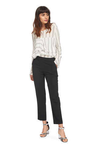 Sophiana Stripe Blouse, in Ivory on Whistles