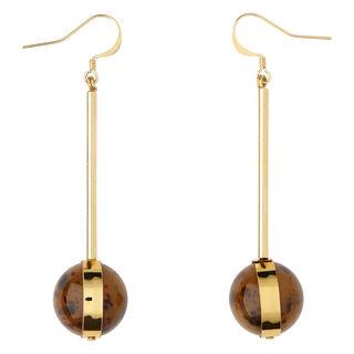 Drop Sphere Resin Earring, in Brown/Multi on Whistles