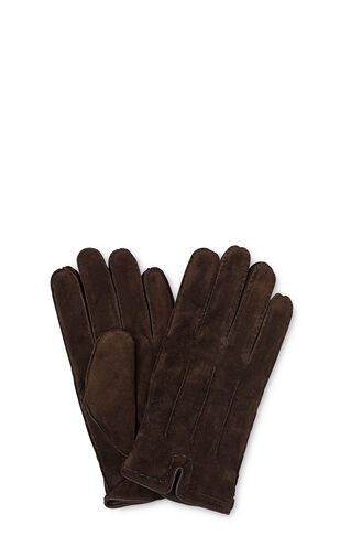 Premium Suede Gloves, in Brown on Whistles
