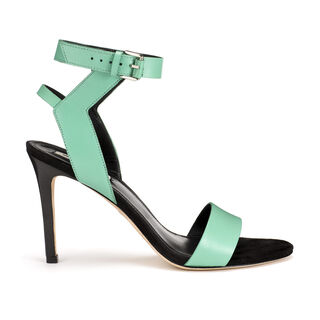 Jade Sporty Stiletto Sandal, in Pale Green on Whistles