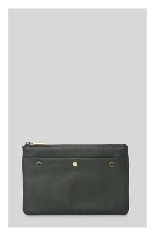 Triple Stud Clutch, in Khaki on Whistles