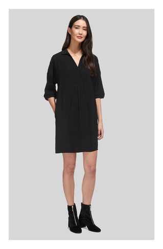 Lea Pocket Dress, in Black on Whistles