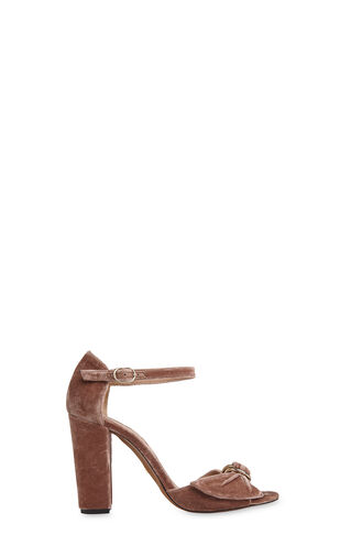 Thurza Ring Detail Heel, in Pink on Whistles