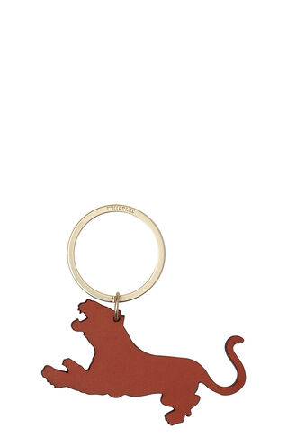 Tiger Keyring, in Orange/Multi on Whistles