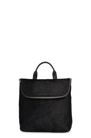 Croc Pony Mini Verity Backpack, in Black on Whistles