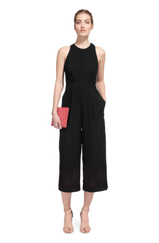 Cecilia Jumpsuit, in Black on Whistles