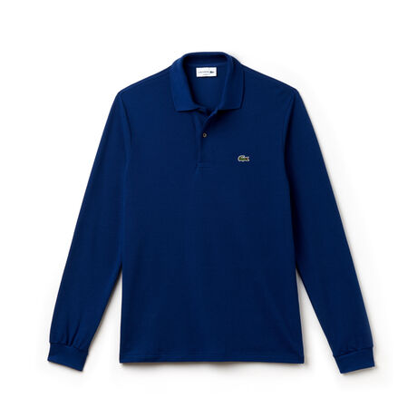 Long-sleeve Lacoste L.12.12 polo