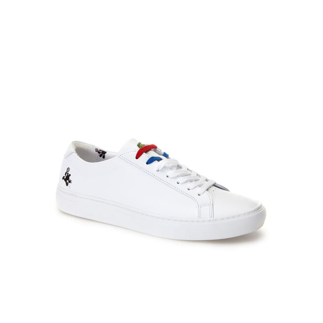 aba5484f812f Lacoste MEN S L.12.12 DISNEY HOLIDAY COLLECTOR MICKEY PRINT TRAINERS