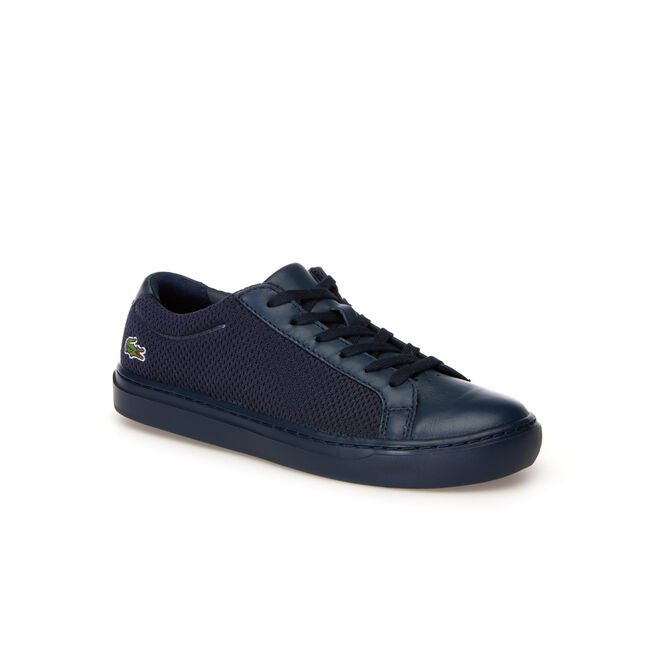 bc65a0098333 Lacoste WOMEN S L.12.12 LIGHT-WT TEXTILE AND LEATHER TRAINERS